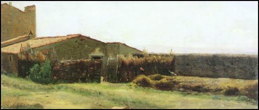 la casa di diego martelli a castiglioncello